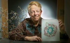 Science's 'Mother of Ribbon Diagrams' celebrates 50 years at Duke