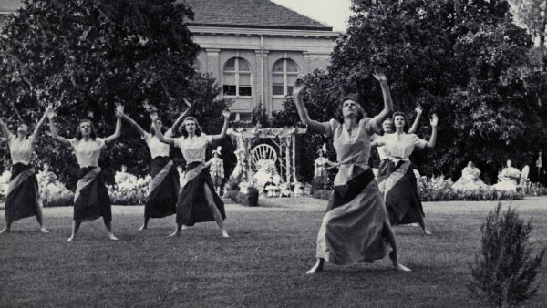 An undated May Day celebration at Duke